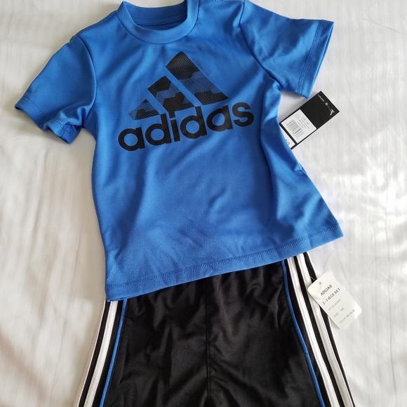 adcee42ae0b78 NWT Infant Boys Adidas Shorts and Shirt